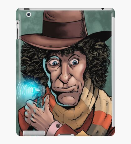 Dr Who Tom Baker iPad Case/Skin