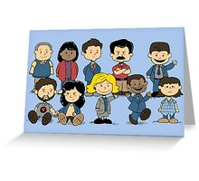 Parks and Rec Peanuts Greeting Card