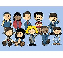 Parks and Rec Peanuts Photographic Print