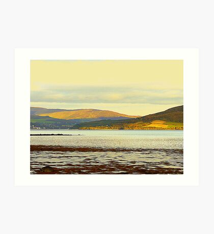 Looking From Rathmullan Across Lough Swilly Art Print