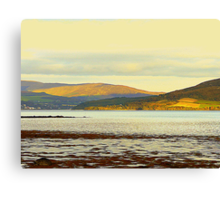 Looking From Rathmullan Across Lough Swilly Canvas Print