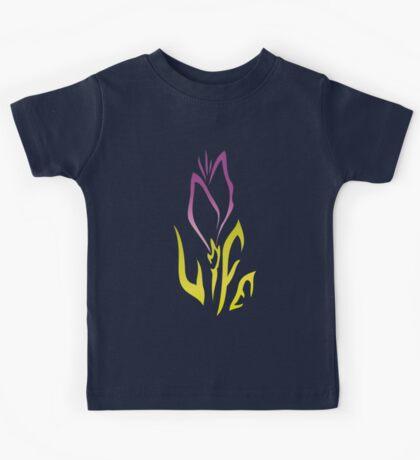 Purple Flower of Life Kids Tee