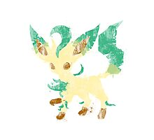 Graffiti Leafeon Photographic Print