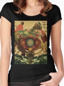 Fleet Foxes #2 Women's Fitted Scoop T-Shirt