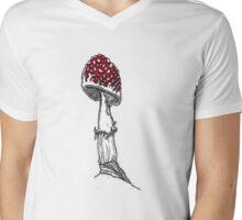 Fly Agaric  Mens V-Neck T-Shirt