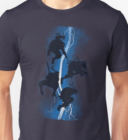 The dark ninja return Unisex T-Shirt
