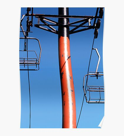 Chair Lift Poster