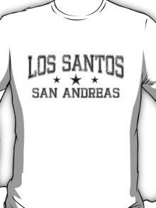 Los Santos Rustic - Black T-Shirt