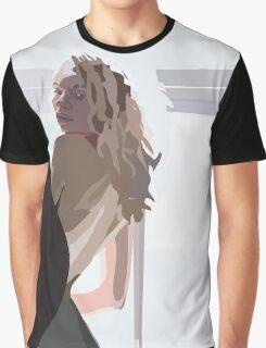Purple Light Graphic T-Shirt