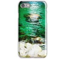 Ripples over Stone iPhone Case/Skin