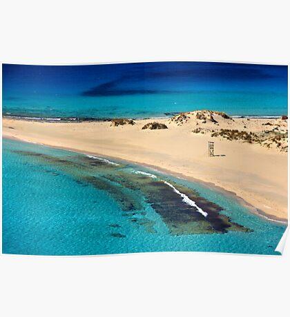 Sea, sand, sea again... Poster