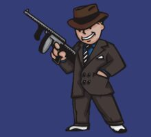 Vault Boy With a Gun!  by Nick Halls