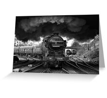 Steam Age Greeting Card