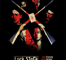 Lock, Stock, & Two Smoking Barrels Poster by childoftheatom