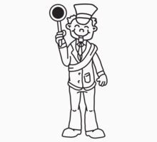 Comic Train Conductor by Style-O-Mat