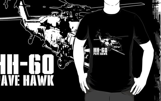 HH-60 Pave Hawk by deathdagger