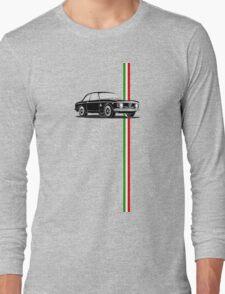 Alfa Romeo Giulia Sprint GTA with Italian flag stripe Long Sleeve T-Shirt