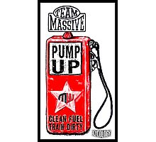 Pump Up Photographic Print