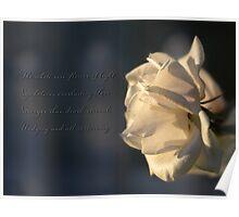Flower of light Poster