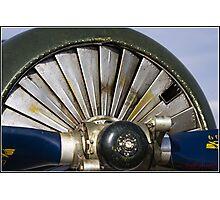Propeller Engine Photographic Print
