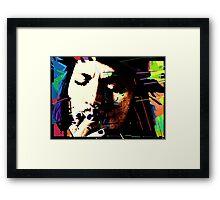 Johnny Depp. Framed Print