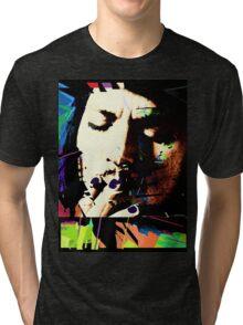 Johnny Depp. Tri-blend T-Shirt