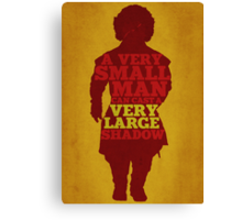 Game of Thrones - Tyrion: A Very Large Shadow Canvas Print