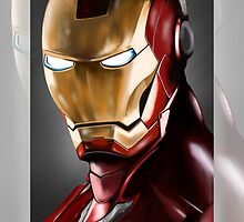 Iron Man Illustration by homiluis