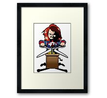 Child's Play 2 (Chucky) Framed Print