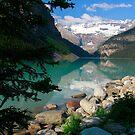 Lake Louise, Canada 2013 by Maureen Clark