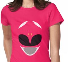 Mighty Morphin Power Rangers Pink Ranger Womens Fitted T-Shirt