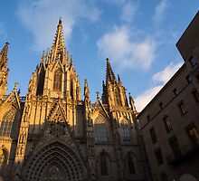 Barcelona's Marvelous Architecture - Cathedral of the Holy Cross and Saint Eulalia by Georgia Mizuleva