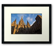 Barcelona's Marvelous Architecture - Cathedral of the Holy Cross and Saint Eulalia Framed Print