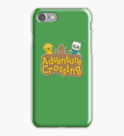 Adventure Crossing iPhone Case/Skin