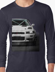 Mat Wootten's Nissan Skyline R34 GTT Long Sleeve T-Shirt