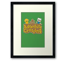 Adventure Crossing Framed Print