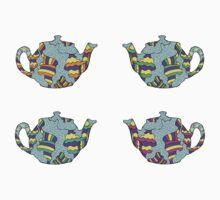 Psychedelic Teapots by TheLoungeLizard