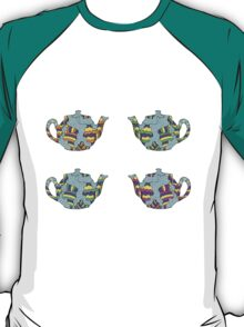 Psychedelic Teapots T-Shirt