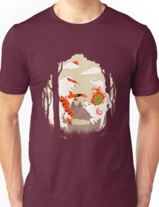 Great Wolves of Fire (Featured on Teefury) Unisex T-Shirt