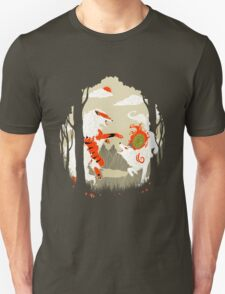 Great Wolves of Fire (Featured on Teefury) T-Shirt