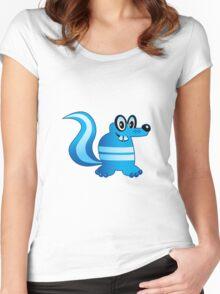SKUNKster Women's Fitted Scoop T-Shirt