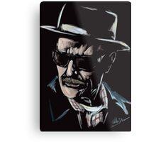 Walter White / Heisenberg (Breaking Bad) Metal Print
