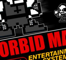 Morbid Man - 8 bit Black Metal Sticker