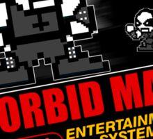 Morbid Man - 8 bit Black Metal Sticker