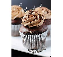 Chocolate Cup Cake (#GC302) Photographic Print