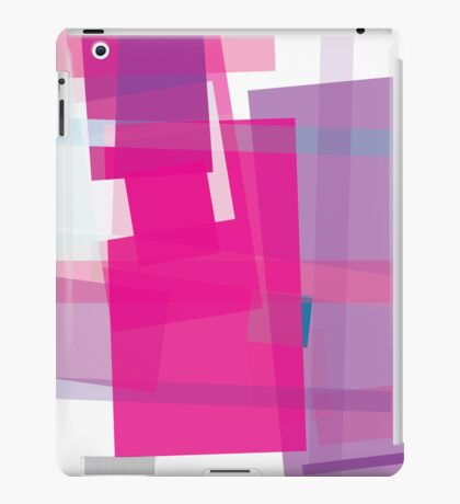 pink + purple - abstract cases iPad Case/Skin