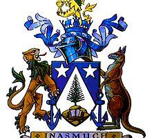 Norfolk Island Coat Of Arms by boogeyman