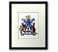 Norfolk Island Coat Of Arms Framed Print