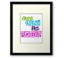 Drunk  Framed Print