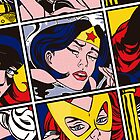 Girl Power: Wonderwoman - iPhone case by Cowabunga